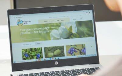 The Legume Hub: Empowering the European legume development community